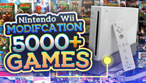 Mod/Jailbreak Your Nintendo Wii/Wii U! (5000+ Games)