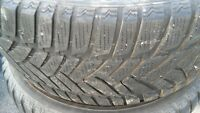 4x 4 x 2454517 245/45r17 DUNLUP HIVER MUSTANG