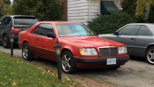 Mercedes Benz 300CE Classic hard top coupe