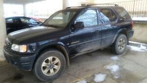 2000 Isuzu Rodeo SUV, Crossover