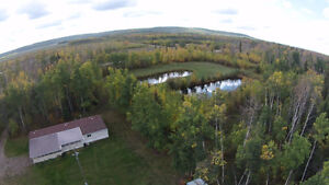 29.9 Acres w/Home For Sale in Baytree AB