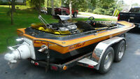 Pioneer Jet Boat with Chev 454 Motor and Berkeley Jet Drive