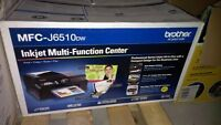 New Brother MFCJ6510DW Business Inkjet All-in-One Printer
