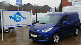 Ford Transit Connect 1.5TDCi 120PS 200 Limited in Deep Impact Blue`