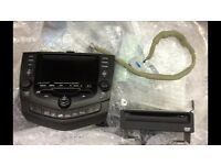 Honda Accord 03-08 sat nav DVD unit