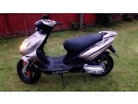 Keeway 50cc moped/scooter/cbt legal