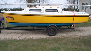 1979 - 21' Sirius sailboat with swing keel