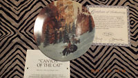 Canyon of the Cat Collector Plate