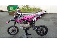 150 crf70 size pit bike