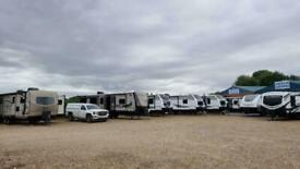 IN STOCK £11k - £40k NEW & USED SLIDE OUT American Caravan RV 5th Wheel Showmans