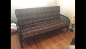 Futon - Double Bed - Great Condition $75 OBO - Need gone ASAP