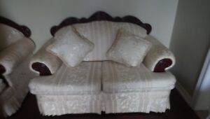 Beautiful French Provincial Sofa Set