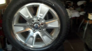 FORD F150 RIMS AND TIRES 6 BOLT
