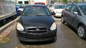 2007 Hyundai Accent hatchback AC Automatic Safetied