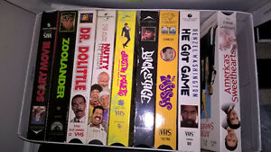 Assorted VHS videos