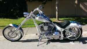 CUSTOM CHOPPER FOR SALE - BUILT BY SAXON - $20,000 OBO