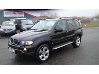 54 BMW X5 3.0 D SPORT AUTO BLACK 4x4 P/PLATE
