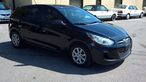 2012 HYUNDAI ACCENT! HATCHBACK!AUTO! A/C! POWER WINDOW