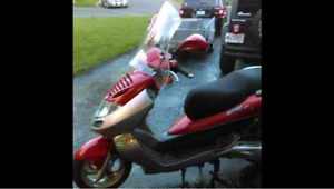 Mint condition 250cc scooter