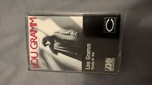 Lou Gramm - Ready or not audio cassette