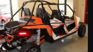 ARCTIC CAT WILDCAT 4 IS JUST LIKE NEW, A REAL BEAUTY!