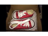Converse infant size 2 brand new boxed from office