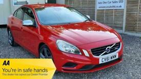 image for 2011 Volvo S60 1.6 T3 R-Design 4dr Saloon Petrol Manual