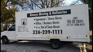 ALWAYZ MOVING & DELIVERIES London Ontario image 4