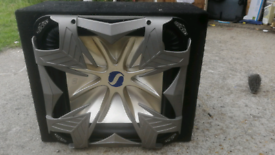 "KICKERS L7 15"" Car subwoofer"