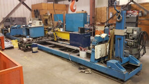 IRD Mechanalysis 33' x 15000 lbs Balancing machine balancer