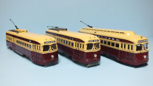 3PC CORGI TTC STREETCARS -AVAILABLE