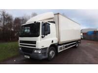 2011 DAF CF 65.220 Euro 5 18 Tonne Box Truck Sleeper with tail lift