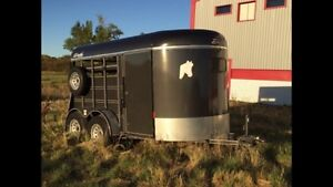 2012 Delta 2 horse trailer. Reduced!