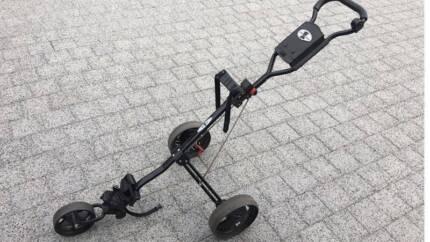 Golf buggy push cart 3 wheel Helena Valley Mundaring Area Preview
