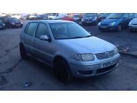 Volkswagen Polo 1.4 Match Ltd Edn 5 DOOR - 2001 Y-REG - 11 MONTHS MOT