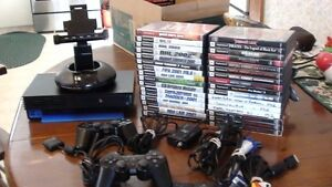 Play Station 2 system with 32 games