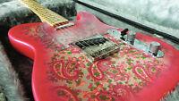 Fender Telecaster Pink Paisley '69 Reissue *Rare*