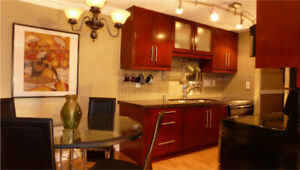 $2400 / 1br - Furnished Condo, 3 min walk to VGH, Patient Stays