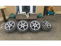 "5/100 ""19alloys for sale golf/bora"