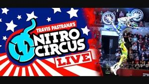 SOLD ***** 4 VIP Nitro Circus tickets for Halifax
