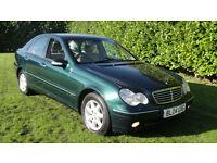 Mercedes-Benz C200 2.1TD auto 2004MY Elegance SE - DIESEL AUTOMATIC