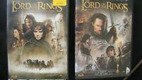 Two Lord of the Rings DVD's --like new