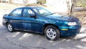 2002 Chevy Malibu with low kms