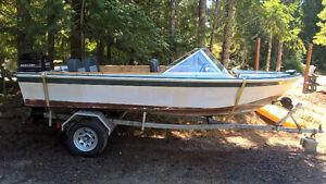 1970's Glasspar 16.5' Boat