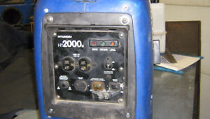2000 watt inverter  generator price reduced