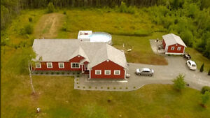 One level living on 2.99 acres - 53 Bell Court Nine Mile River