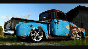 Wanted looking for rear fenders for 47 - 54 short box chev or gm