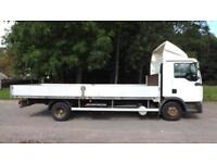 2010 MAN/ ERF TGL 7.180 Flatbed truck with dropsides