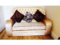 Luxury custom made Sofa and foot stall