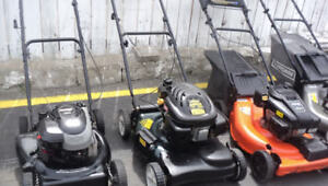 LAWN MOWERS FOR SELL FROM $100